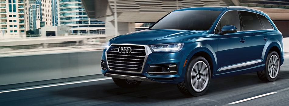 New Audi Q7 At Audi Central Houston