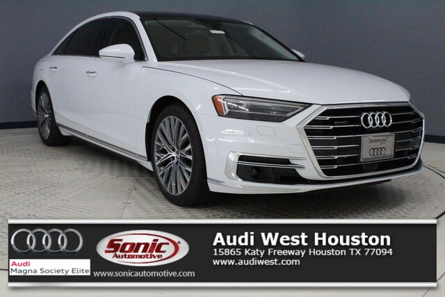 New 2019 Audi A8 L 3.0T Sedan for sale in Houston