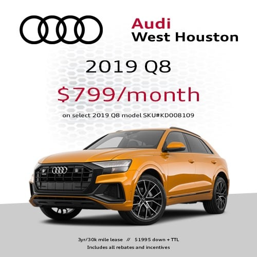 Audi Lease Specials In Houston