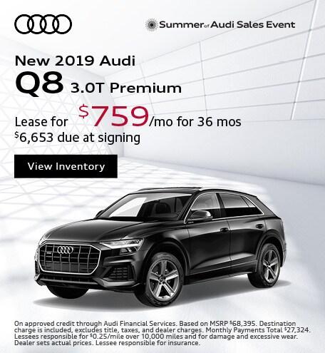 JULY : Q8 3.0T Premium