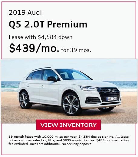 2019 Q5 2.0T Premium - Lease for $439/mo