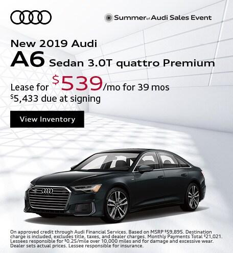 JULY : A6 3.0T quattro Premium