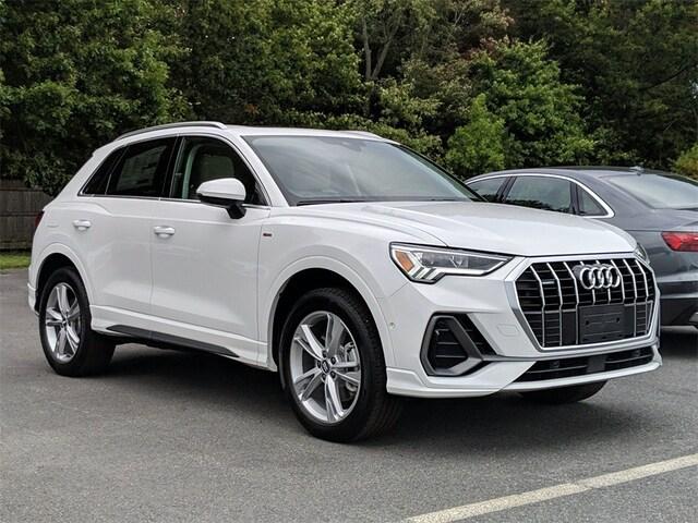 New 2021 Audi Q3 45 S line Premium Plus SUV in Westwood, MA
