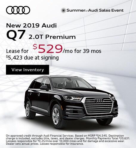 JULY : Q7 2.0T Premium