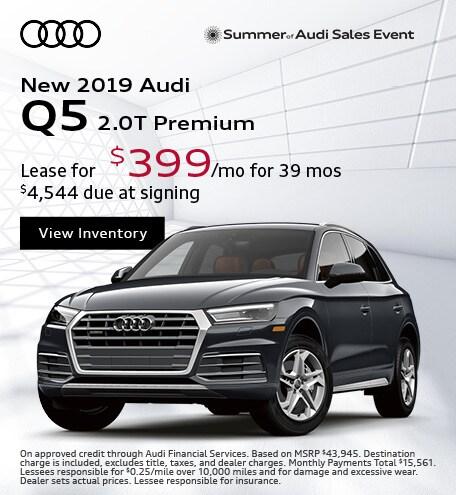 JULY : Q5 2.0T Premium