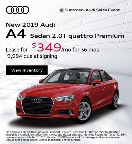 JULY : A4 2.0T quattro Premium