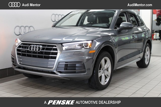 Certified Pre-Owned 2018 Audi Q5 2.0 TFSI Premium SUV  for Sale in Mentor, OH