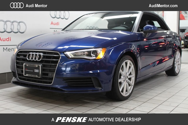 Certified Pre-Owned 2016 Audi A3 Cabriolet quattro 2.0T Premium Plus Cabriolet  for Sale in Mentor, OH
