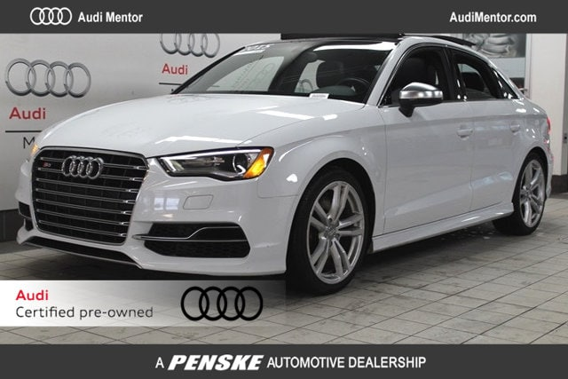 Certified Pre-Owned 2015 Audi S3 quattro 2.0T Premium Plus Sedan  for Sale in Mentor, OH