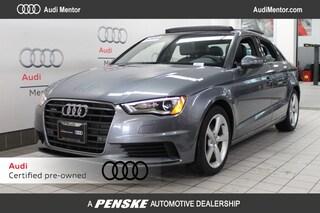 Pre-Owned 2016 Audi A3 quattro 2.0T Premium Sedan for sale in Mentor, OH