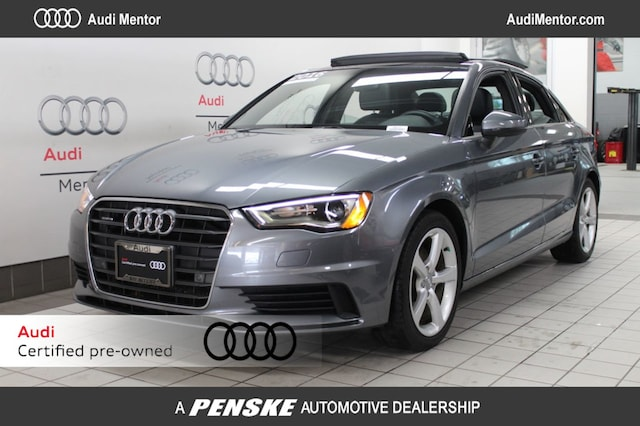 Certified Pre-Owned 2016 Audi A3 quattro 2.0T Premium Sedan  for Sale in Mentor, OH