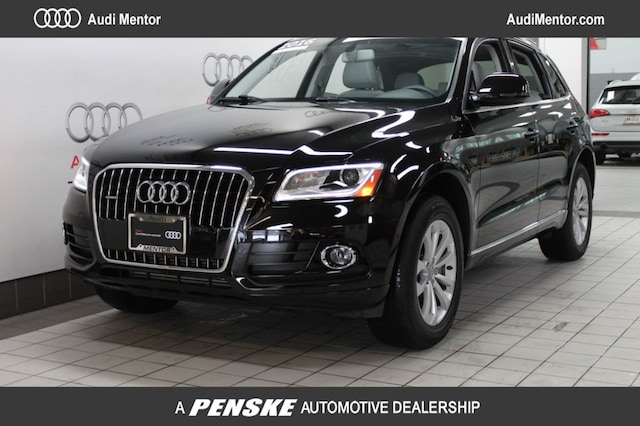 Certified Pre-Owned 2016 Audi Q5 quattro  2.0T Premium SUV  for Sale in Mentor, OH