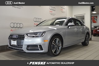 Pre-Owned 2018 Audi A4 2.0 TFSI Premium Plus S Tronic quattro AWD Sedan for sale in Mentor, OH