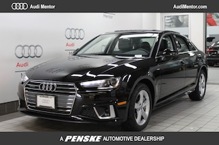 New 2019 Audi A4 2.0T Premium Sedan for sale in Mentor, OH