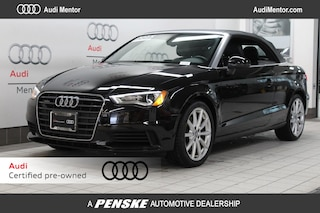 Pre-Owned 2015 Audi A3 Cabriolet quattro 2.0T Premium Plus Cabriolet for sale in Mentor, OH