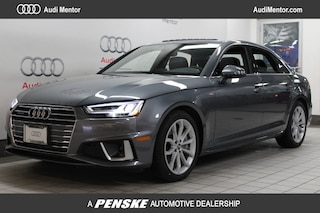 Pre-Owned 2019 Audi A4 2.0 TFSI Premium Plus S Tronic quattro AWD Sedan for sale in Mentor, OH