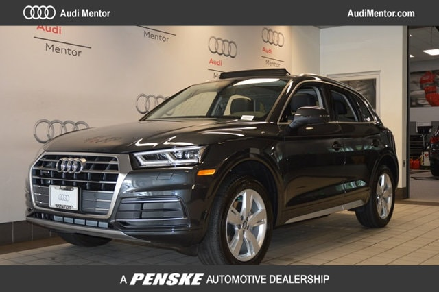 Certified Pre-Owned 2018 Audi Q5 2.0 TFSI Tech Premium Plus SUV  for Sale in Mentor, OH