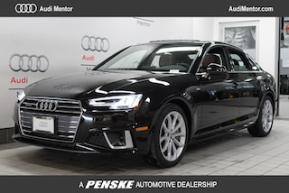 New 2019 Audi A4 2.0T Premium Plus Sedan for sale in Mentor, OH