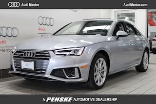 Pre-Owned 2019 Audi A4 2.0T Premium Plus Sedan for sale in Mentor, OH