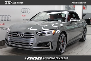 New 2019 Audi S5 3.0T Prestige Cabriolet for sale in Mentor, OH