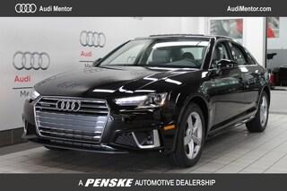 New 2019 Audi A4 2.0T Premium Sedan for sale in Mentor, OH