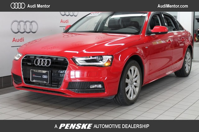 Certified Pre-Owned 2015 Audi A4 Automatic quattro 2.0T Premium Sedan  for Sale in Mentor, OH