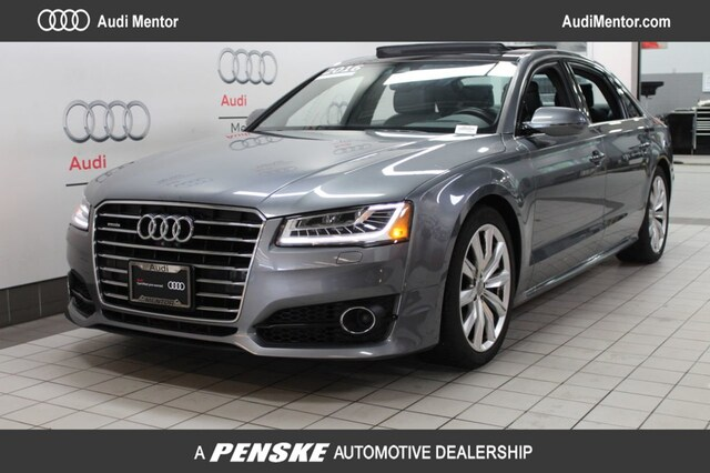 Certified Pre-Owned 2016 Audi A8 4.0T Sport Sedan  for Sale in Mentor, OH