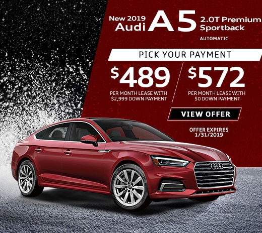 Audi Lease Offer: New Audi Lease Specials