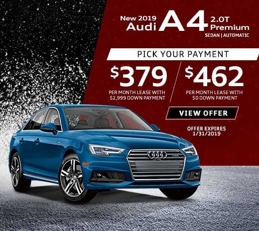 New Audi Lease Specials