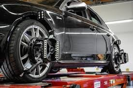 On a Four Wheel Alignment for your Audi's Quattro system