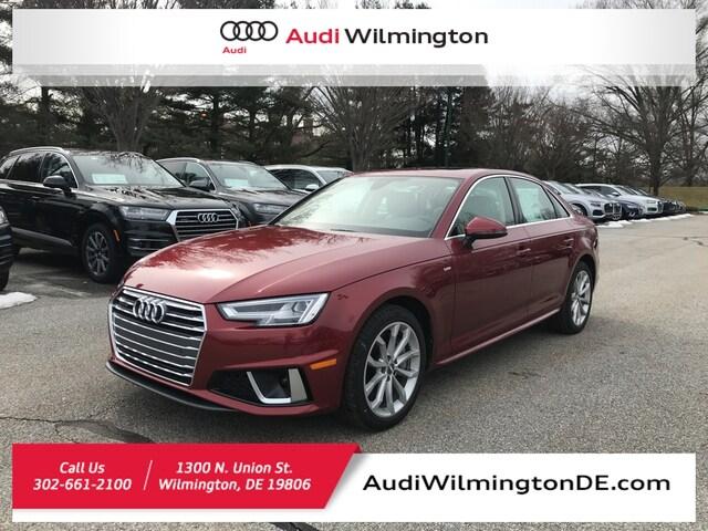 New 2019 Audi A4 2.0T Premium Plus Sedan Wilmington, DE