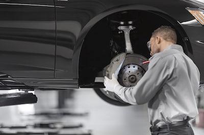 Brake Pad & Rotor Replacement