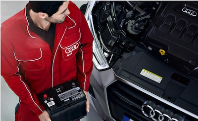 10% Off Audi OEM Battery Replacement
