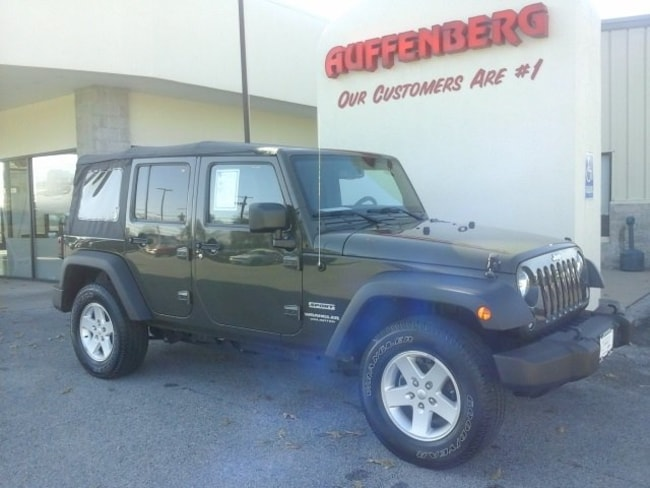 used 2015 Jeep Wrangler Unlimited Sport 4x4 SUV in herrin IL