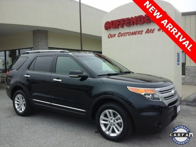 used 2015 Ford Explorer XLT SUV in herrin IL