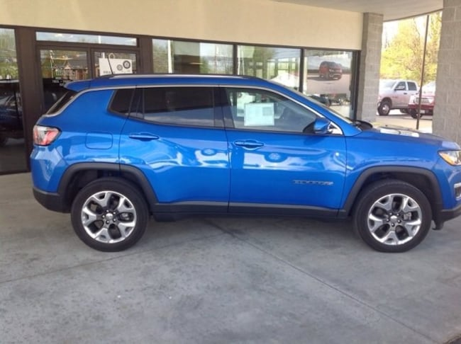 used 2019 Jeep Compass Limited 4x4 SUV in herrin IL