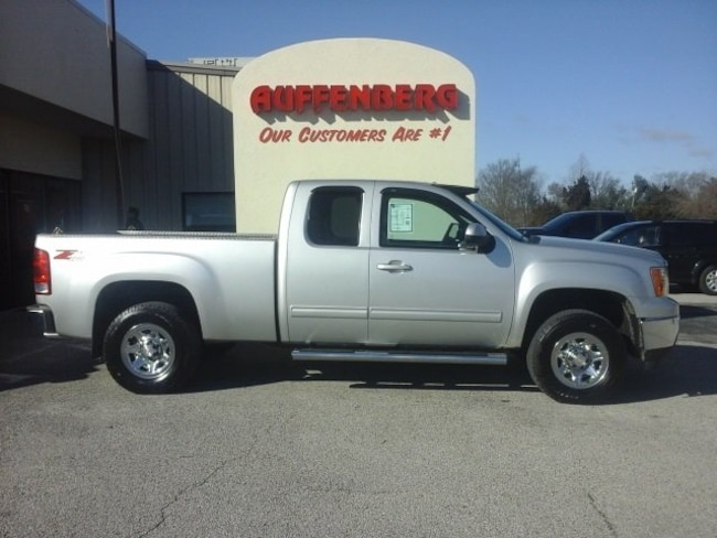used 2012 GMC Sierra 1500 SLT Truck Extended Cab in herrin IL
