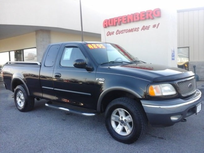 used 2002 Ford F-150 Lariat Truck Super Cab in herrin IL