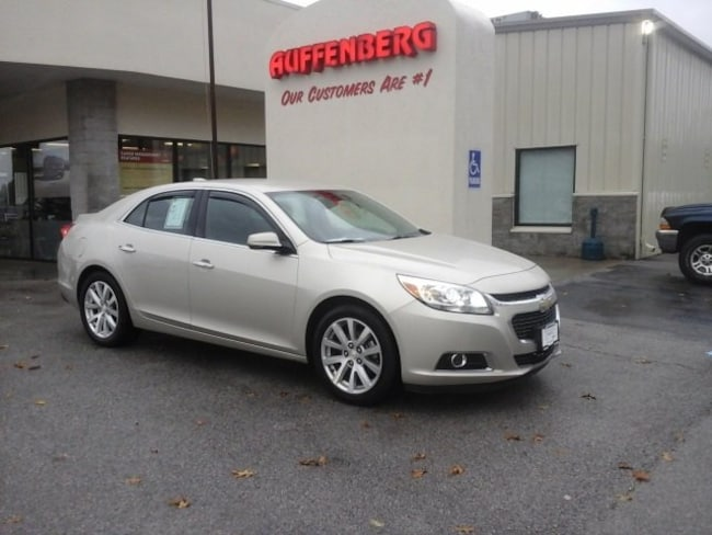 used 2015 Chevrolet Malibu LTZ w/1LZ Sedan in herrin IL