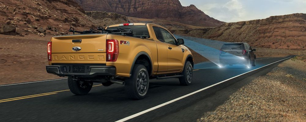 2019 Ford Ranger Pre-Collision Safety