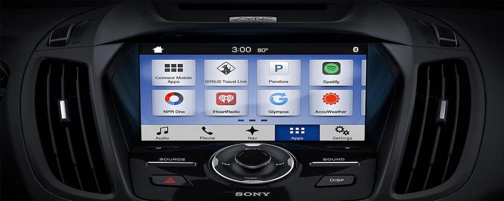 Ford Escape Touchscreen