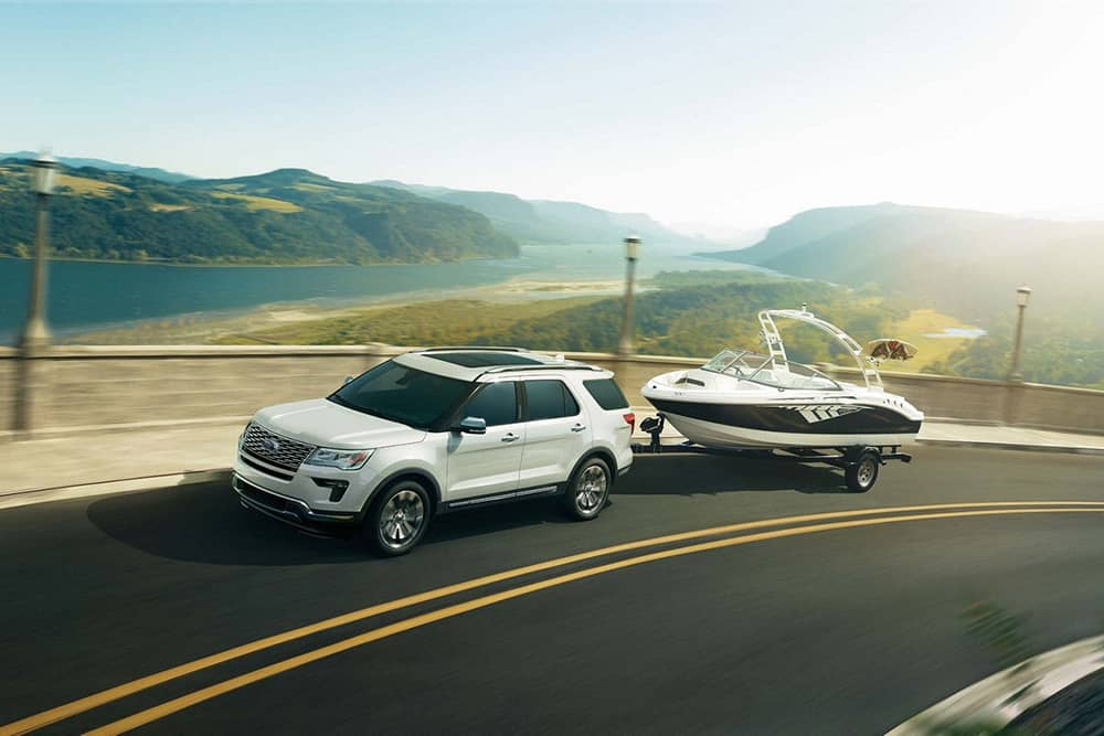 2018 Ford Explorer Towing