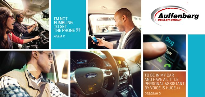 Learn about Ford Sync at Auffenberg Ford Belleville in Belleville, IL