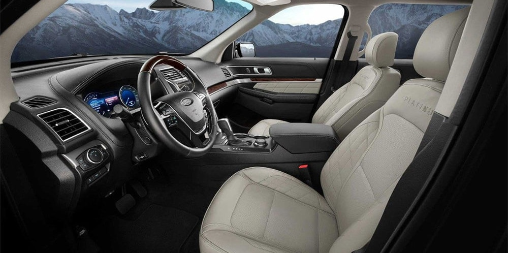 2018 Ford Explorer Interior Space
