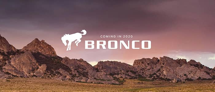 Ford Bronco Coming Soon