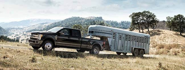 2018 Ford Super Duty Towing