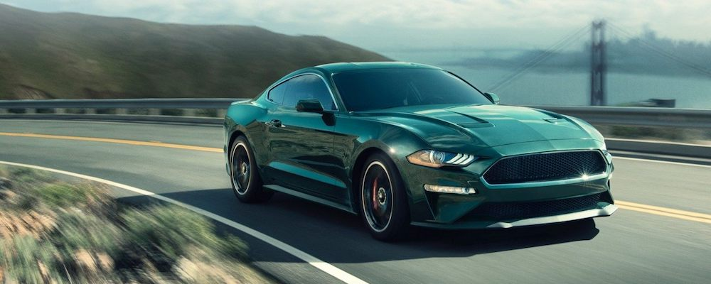 2019 Ford Mustang on Highway