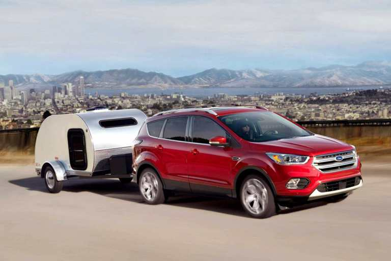 2018 Ford Escape With Trailer