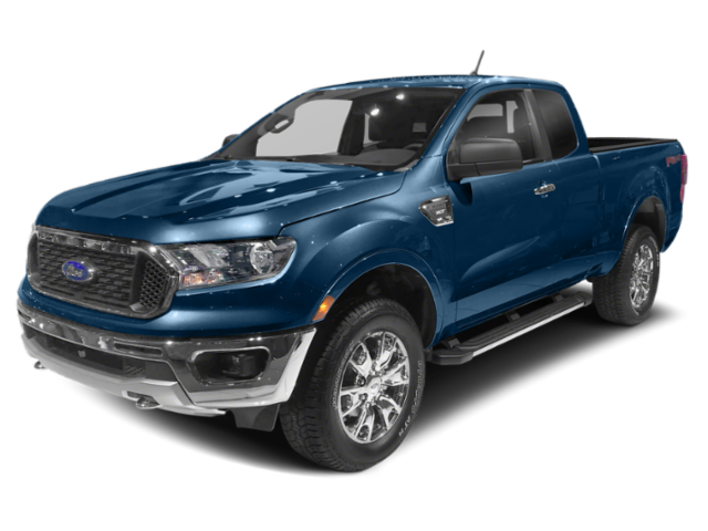 2019 Ford Ranger Blue