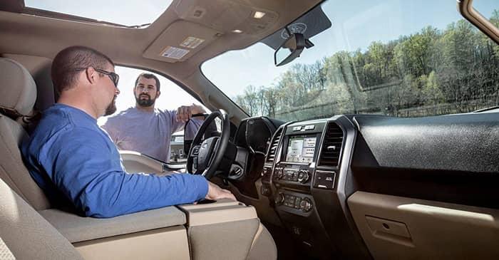 Ford F 150 Platinum Interior >> 2018 Ford F 150 Interior Features Auffenberg Ford O Fallon